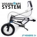 Vorsatzrad v3 / Wheelchair front wheel steerable